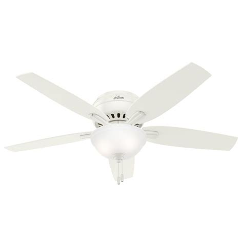 Hunter 53313 Newsome 52 Inch 2 Light Ceiling Fan In White