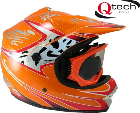 motocross crash helmets childrens kids motocross off road crash helmet goggles