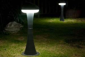Lanterne Solaire Exterieur : lanterne solaire pour jardins coupe ronde energie douce ~ Premium-room.com Idées de Décoration