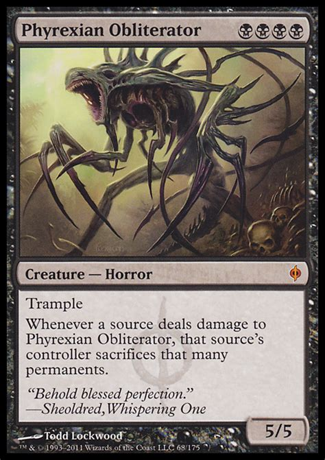 Phyrexian Obliterator Deck 2012 by Klotz Productions