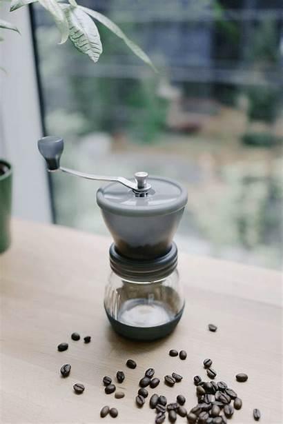 Coffee Hario Mill Skerton Grinder Ceramic Minimal