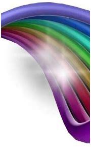 3D Swirl Rainbow PSD PSD Free Download   Templates & Mockups