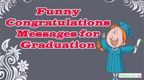 funny congratulations message  graduation quotes wishes