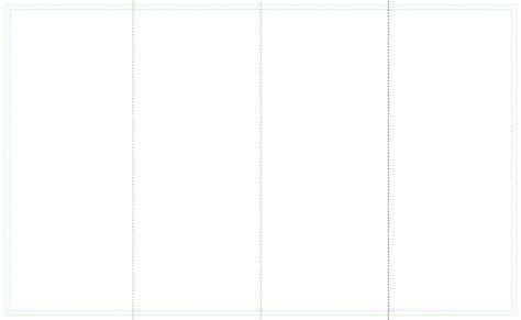 4 Panel Brochure Roll Fold Template Free 4 Panel Brochure Roll Fold Template Free