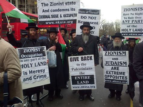 Zionism Contrary To Torah Teachings American Rabbi
