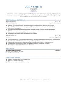 Resume Sle Templates Resume Formats Jobscan