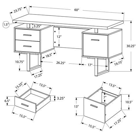 Modern Desks  Harley Gray Washed Desk  Eurway Modern
