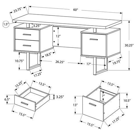 Modern Desks   Harley White Desk   Eurway Furniture