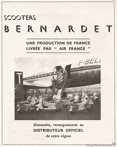 Bernardet Scooters And Air France