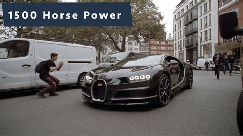 bugatti chiron let on the streets of