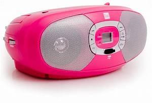 Cd Player Für Mädchen : kinder m dchen stereoanlage tragbar cd mp3 player radio usb boombox pink rosa ebay ~ Orissabook.com Haus und Dekorationen