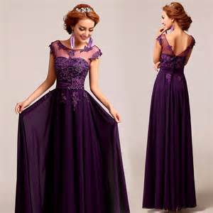 plum bridesmaid dress best 25 purple prom dresses ideas on