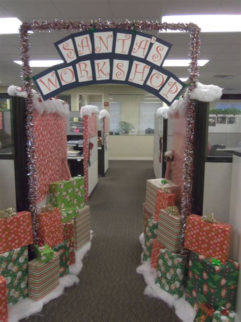 christmas decorations  boost morale   office