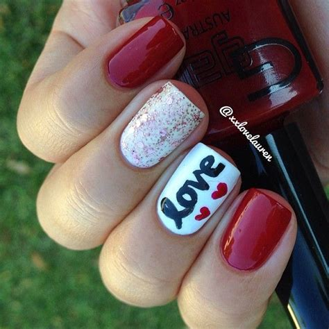 Top 16 Famous Valentine Nail Designs  New Easy Trend For