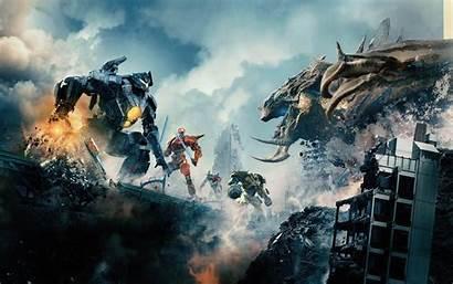 Godzilla 4k Wallpapers Ultra Monster Rim Pacific