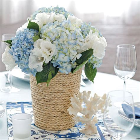 Beach Wedding Flowers Centerpieces