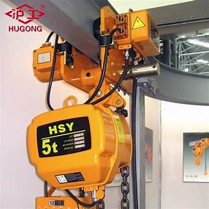 China 5ton Capacity Electric Chain Hoist With Load Limiter