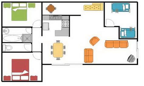 blueprints for houses simple square house floor plans simple house floor plan