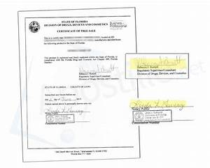 24 best state of florida sample apostille images on pinterest With document signing certificate free