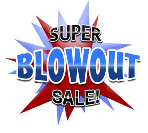blowout specials backyards n more