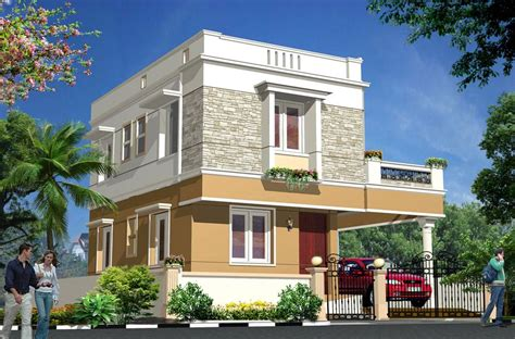 Exterior House Elevation  Homedesignpictures