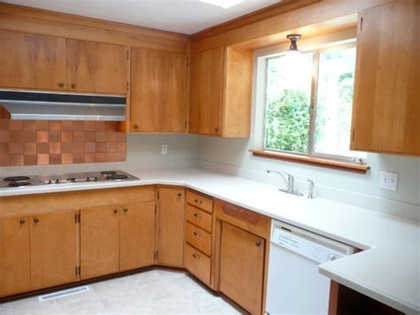 wood cabinets for kitchen any ideas it s a 60 s kitchen ok space cabinets are 1567