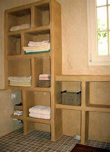 atelier olivier billon tadelakt meuble With siporex salle de bain