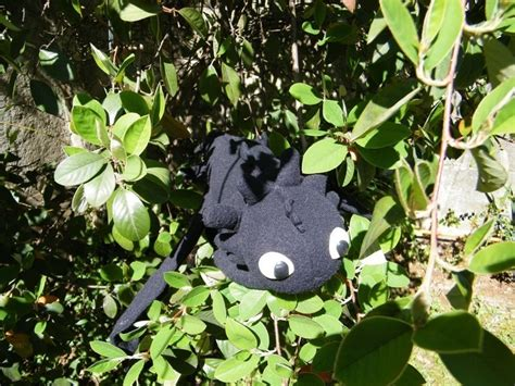 toothless  food plushie sewing  cut