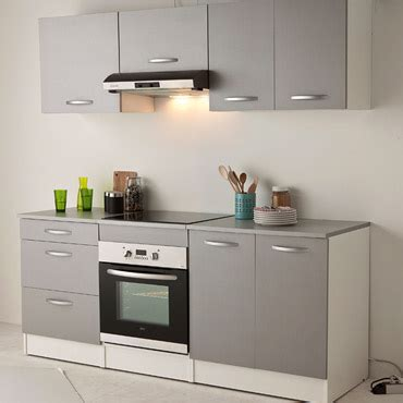 cuisine encastrable conforama cuisine spoon color coloris gris vente de les cuisines