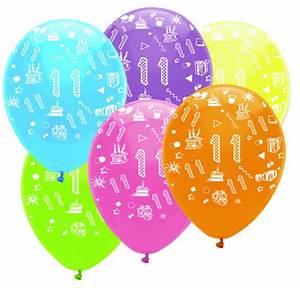 Deko 3 Geburtstag : 11 geburtstag girlande luftballons kerze deko set ~ Whattoseeinmadrid.com Haus und Dekorationen