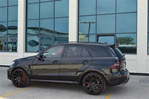 Brabus Mercedes Ml63 Amg With 700 Horsepower