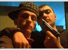 Sickening pictures of immigrant gang posing with high