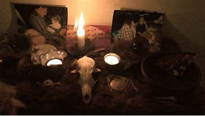 Samhain Altar Departed Honor