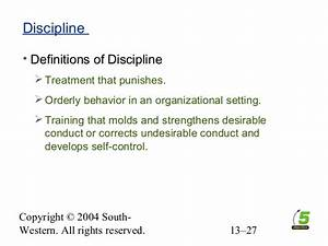 Chapter 13 Employee Rights and Discipline