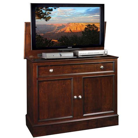 tv cabinet hidden tv lift traveler tv lift cabinet