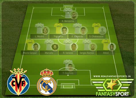 Villarreal vs Real Madrid match prediction (21st November ...