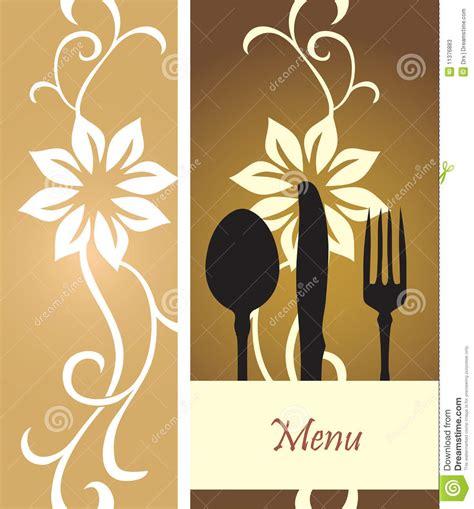 food menu vector stock  image