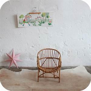 Fauteuil Rotin Enfant : fauteuil enfant ancien en rotin atelier du petit parc ~ Teatrodelosmanantiales.com Idées de Décoration
