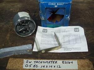 Stewart Warner Tachometer 82164 Stewart Warner Tachometer