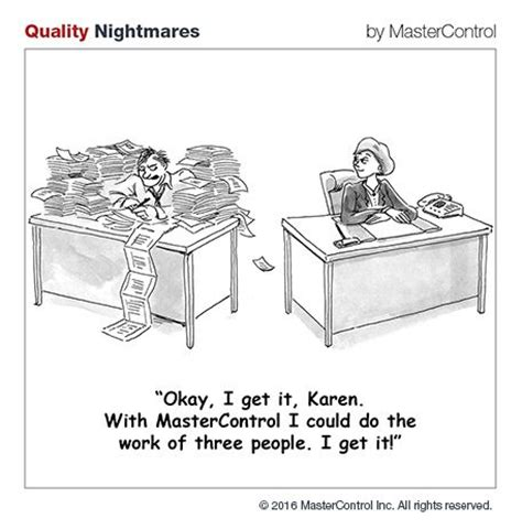 quality management cartoons images  pinterest