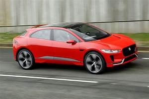 Jaguar I Pace : jaguar i pace first drive of electric suv concept autocar ~ Medecine-chirurgie-esthetiques.com Avis de Voitures