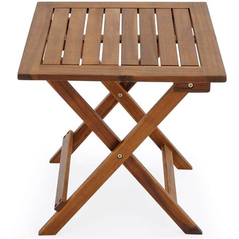 folding garden table wooden tables solid wood porch patio