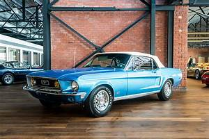 Ford Mustang convertible blue (2) - Richmonds - Classic and Prestige Cars - Storage and Sales ...