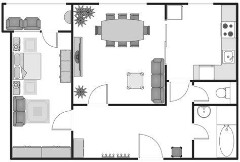 a floor plan basic floor plans solution conceptdraw com