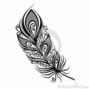 Dessin De Plume Facile : oiseau abstrait de plume plume dessin plume tatouage plume oiseaux et tatouage plume ~ Melissatoandfro.com Idées de Décoration