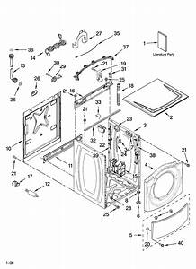 Top And Cabinet Parts Diagram  U0026 Parts List For Model