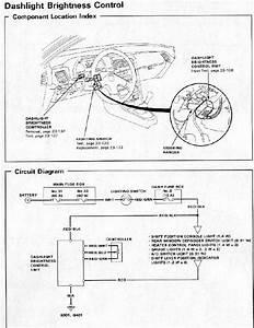 91 Civic Light Diagram