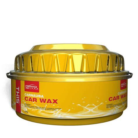 High gloss shine polish soft paste carnauba car wax