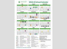 School Year Calendar 201819 School Year Calendar