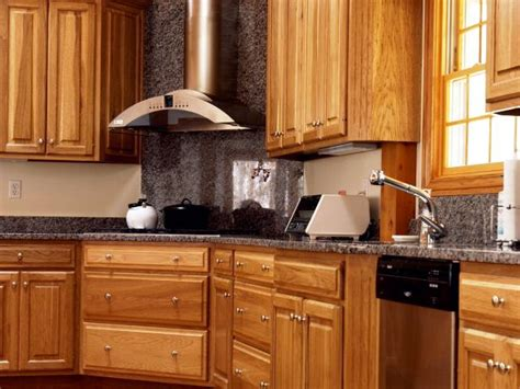 handles for oak kitchen cabinets wood kitchen cabinets pictures options tips ideas hgtv 6985